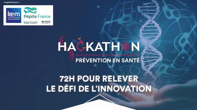 hackathon pr u00e9vention en sant u00e9 avec le leem du 5 au 7 juillet 2019